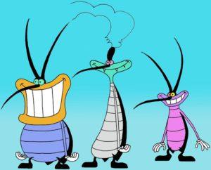 cartone animato maledetti scarafaggi