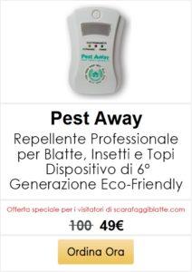 repellente ultrasuoni Pest Away