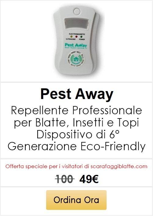 scarafaggi blatte repellente